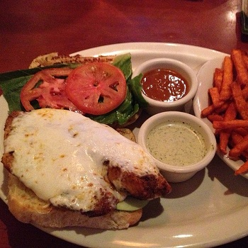 Source: Foodspotting, Blackened Fish Sandwich
