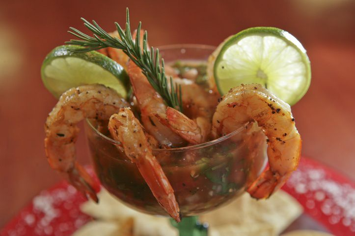 Source: Café Mezza and Grille, Shrimp Cocktail