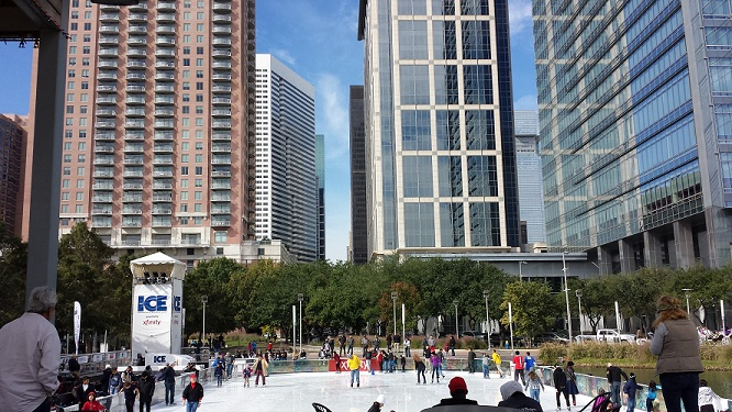 Take to The ICE at Discovery Green this Season!