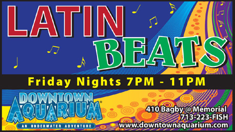 Image result for Latin Beats at Downtown Aquarium