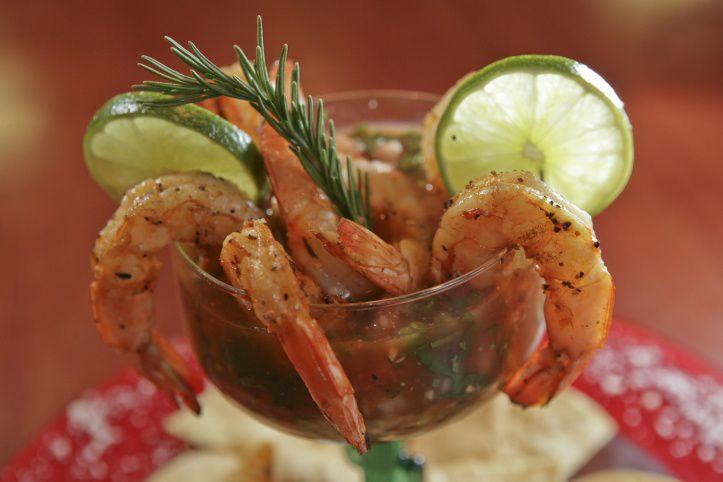 Source: Café Mezza and Grille, Shrimp Cocktail